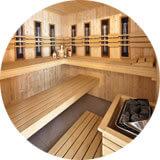 Vakantiehuis met prive sauna en zwembad