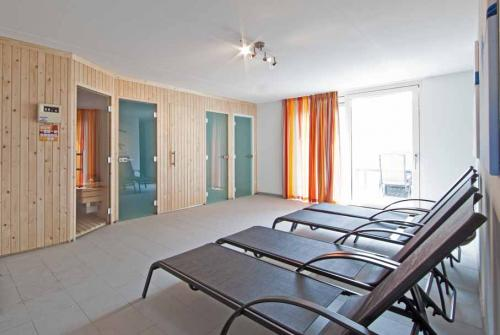 Wellness faciliteiten in iedere vakantievilla Resort Arcen